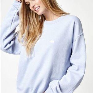 Light blue pacsun sweatshirt